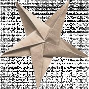 Good Life Oct 21_Folded Star-Tan  Paper