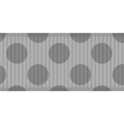 Fat Ribbon Template- Polka Dots 02