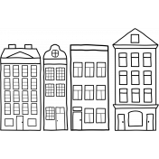 Houses Template - City Bicycle