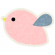 Bird Pink- Our House Elements