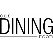 Our House Word Art- Dining