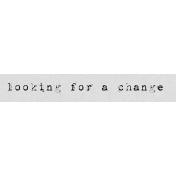 Autumn Art Word Snippet- Change