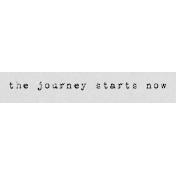 Autumn Art Word Snippet- Journey Starts Now