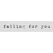 Autumn Art Word Snippet- Falling For You