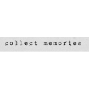 Autumn Art Word Snippet- Collect Memories