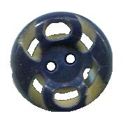 Button Blue- Our House Elements