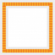 Jolly Frame- Yellow & Orange