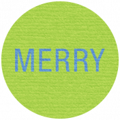 Jolly Label- Merry