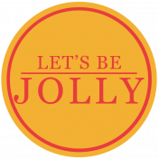 Jolly Label- Let's Be Jolly