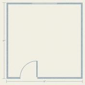 Our House Mini Kit- Floor Plan Paper