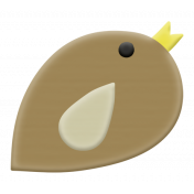 Our House Mini Kit- Rubber Bird