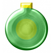 Jolly Ornament- Green