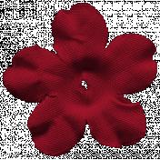 Nutcracker Flower- Red