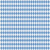 Jolly Papers Add-on- Blue Argyle