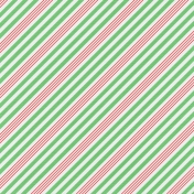 Jolly Papers Add-on- Wintergreen Stripes