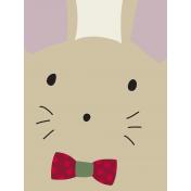 Nutcracker Cards- Mouse Face Journal Card