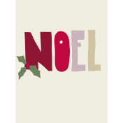 Nutcracker Cards- Noel Journal Card