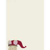 Nutcracker Cards- Peeking Mouse Journal Card