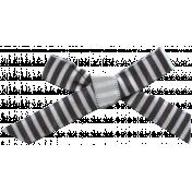 Nutcracker Mini Kit- Striped Bow