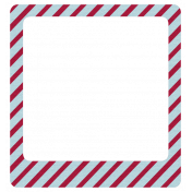 Nutcracker Mini Kit- Diagonal Stripe Frame