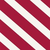 Nutcracker Mini Kit- Large Diagonal Striped Paper