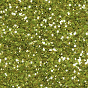 Autumn Art Glitter- Green Seamless
