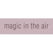 Nutcracker Label- Magic In The Air