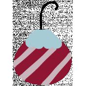 Nutcracker Ornament- Striped