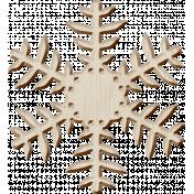Winter Arabesque Mini Kit- Wooden Snowflake