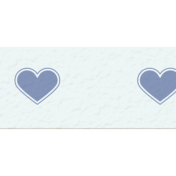 Winter Arabesque Mini Kit- Heart Washi Tape