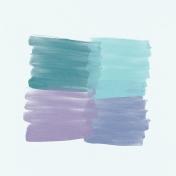 Winter Arabesque Paint Paper