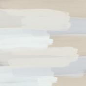 Winter Arabesque Paper- Paint