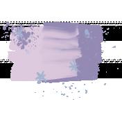 Winter Arabesque Paint- Purple