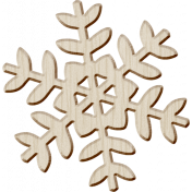Winter Arabesque Snowflake A