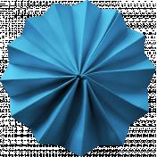 Wandering Road Paper Flower- Blue