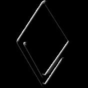 Here & Now Fastener- Black Diamond
