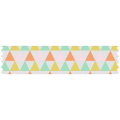 Here & Now Washi Tape- Triangles