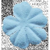 Here & Now Flower- Light Blue