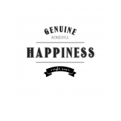 Here & Now Genuine Happiness 3x4 Pocket Card