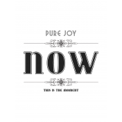 Here & Now Pure Joy 3x4 Pocket Card