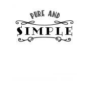 Here & Now Pure & Simple 3x4 Pocket Card