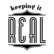 Here & Now Keeping It Real 3x4 Pocket Card
