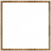 Here & Now Frames- Dark Wood Square
