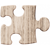Wood 9 - Puzzle Here & Now Wood Kit
