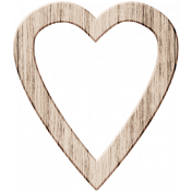 Wood 10- Open Heart Here & Now Wood Kit