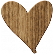 Wood 12- Thick Heart Here & Now Wood Kit