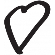 Heart 005 Template- Heart Brush Kit #3