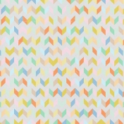 Here & Now- Vintage Chevron Paper