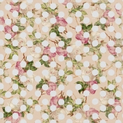Here & Now- Polka Dot Floral Paper