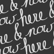 Here & Now- Word Paper